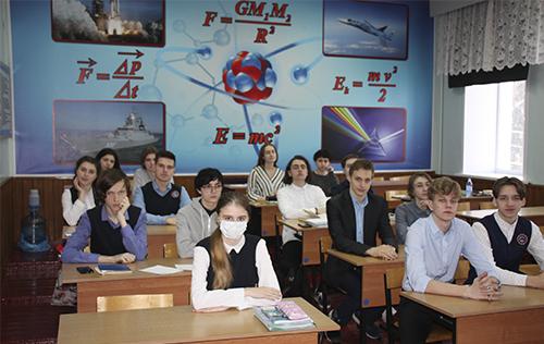 Набор в инженерно-технологический класс