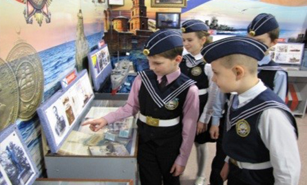Посещение музея «Куряне и Российский флот»,