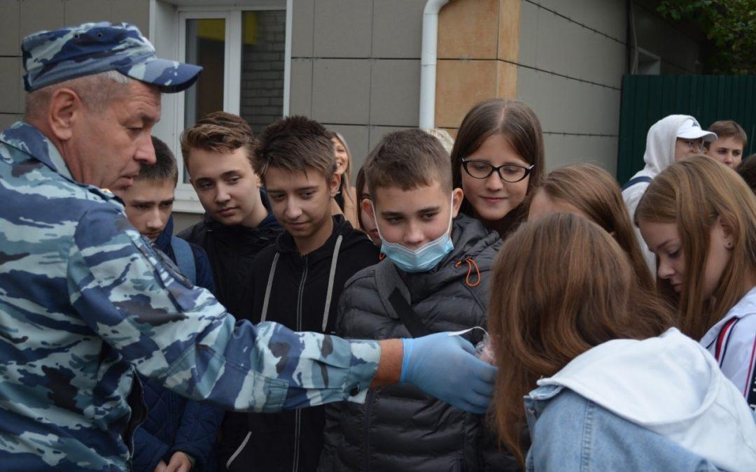 9 Б класс посетил УМВД России по Курской области